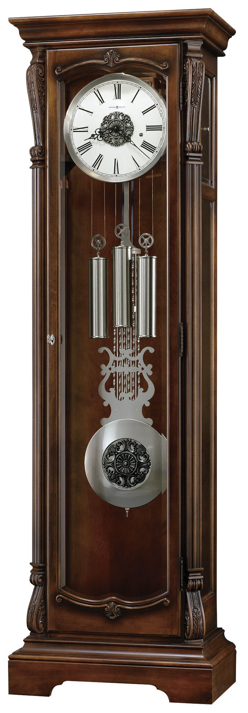 Howard Miller Clocks Wellington Grandfather Clock - Item Number: 611-122