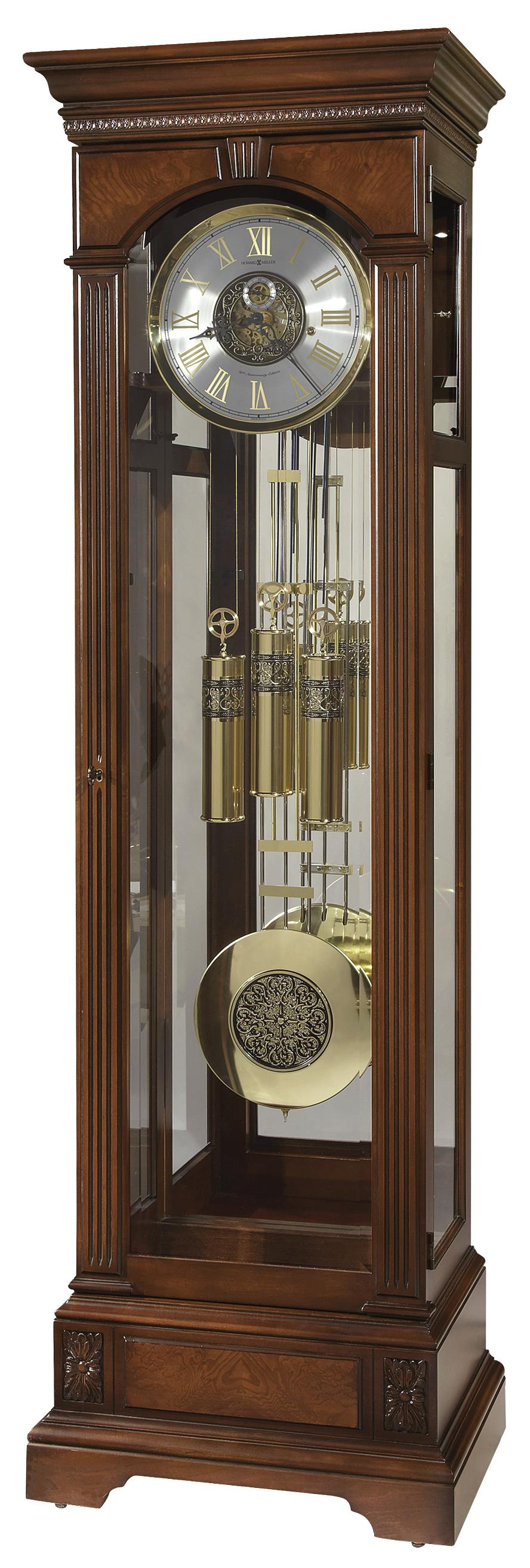 Howard Miller Clocks Alford Grandfather Clock - Item Number: 611-224