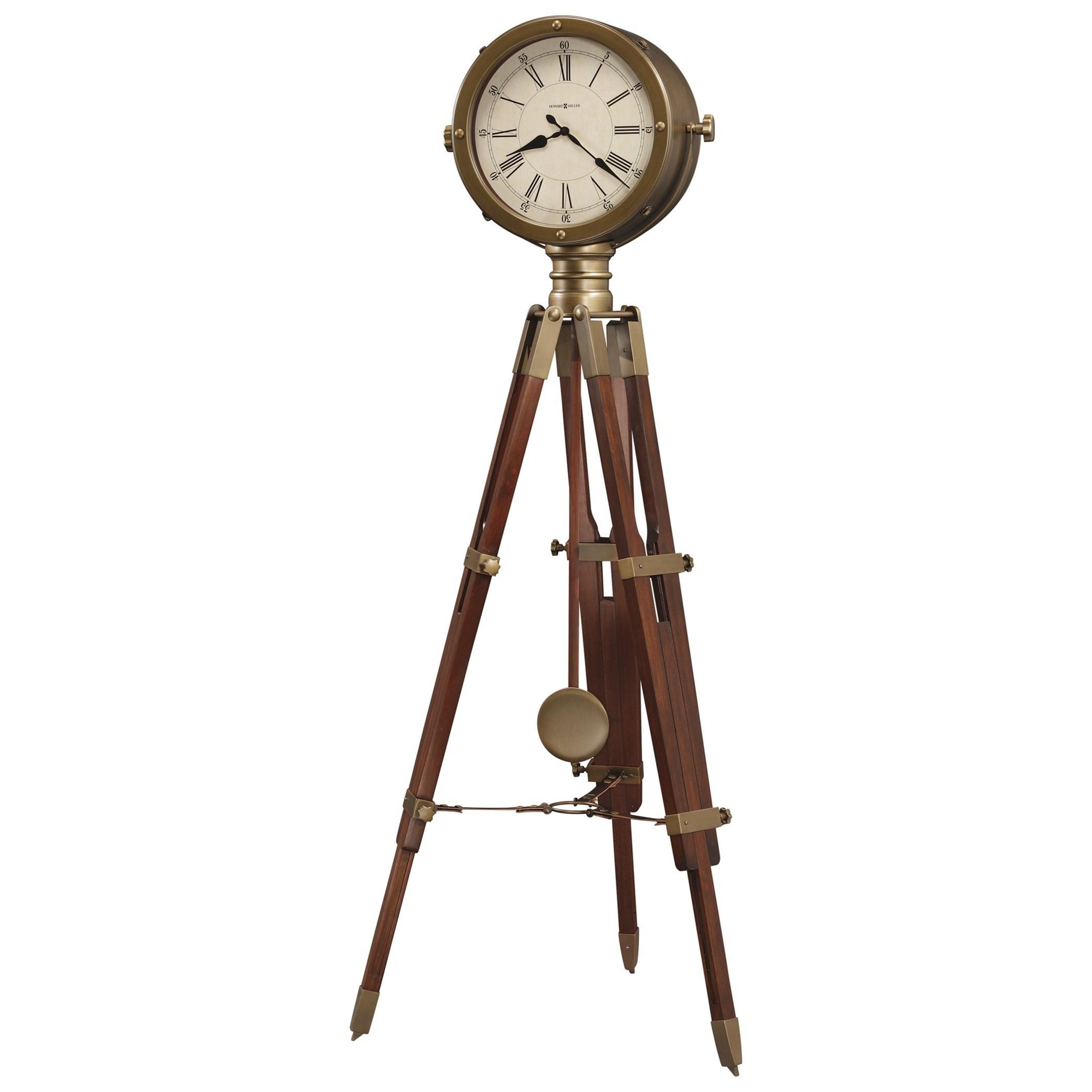 Howard Miller Clocks Time Surveyor Floor Clock - Item Number: 615-080