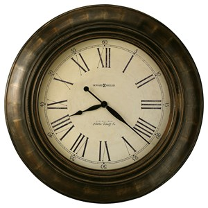 Howard Miller Clocks Brohman Wall Clock