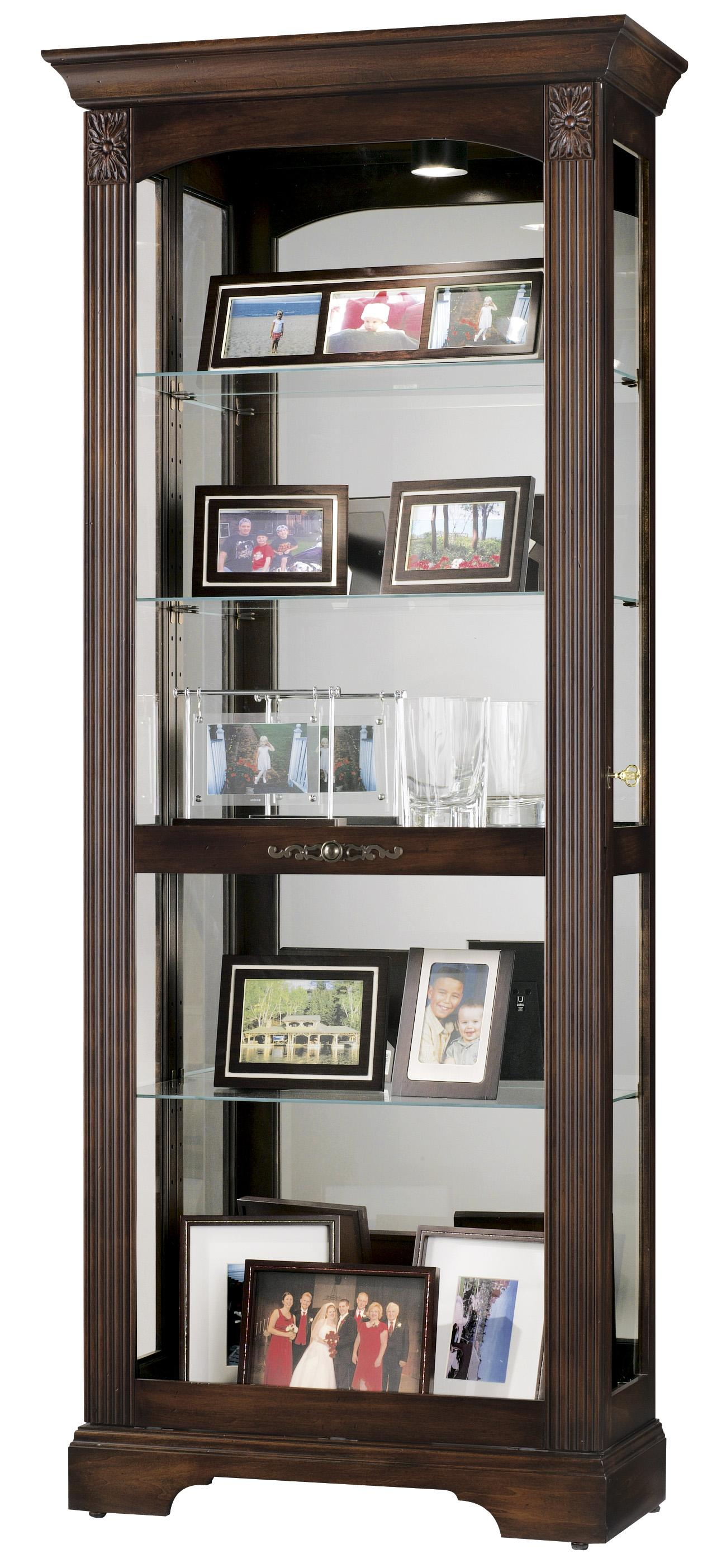Howard Miller Curios Ricardo Display Cabinet - Item Number: 680-420