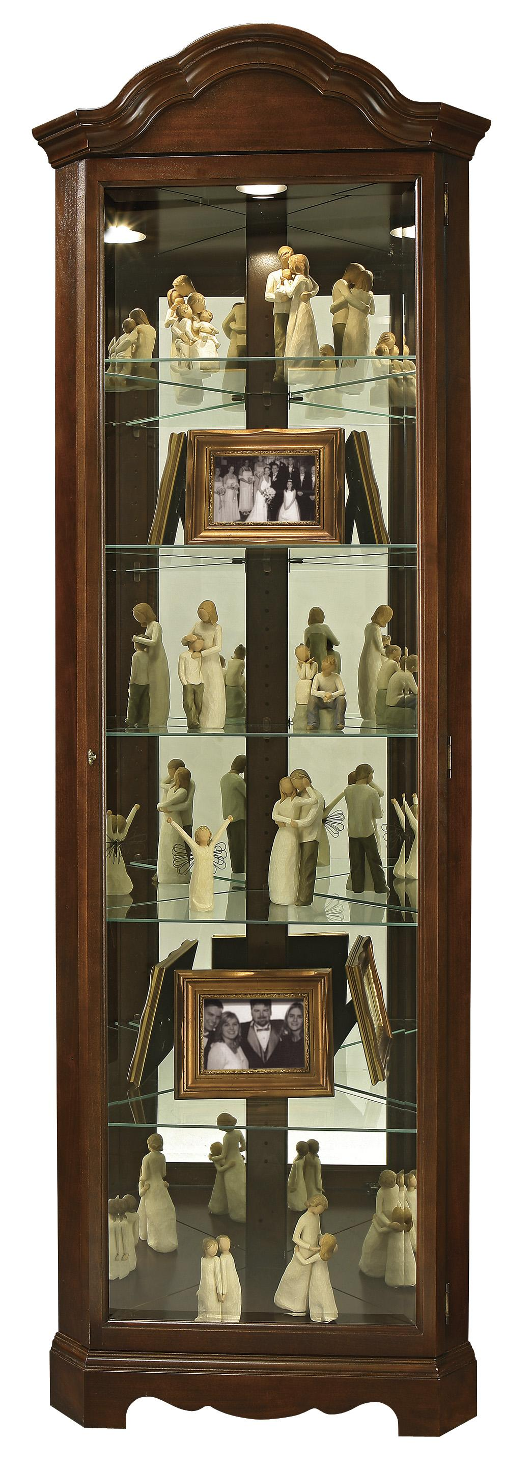 Howard Miller Curios Murphy Display Cabinet - Item Number: 680-495