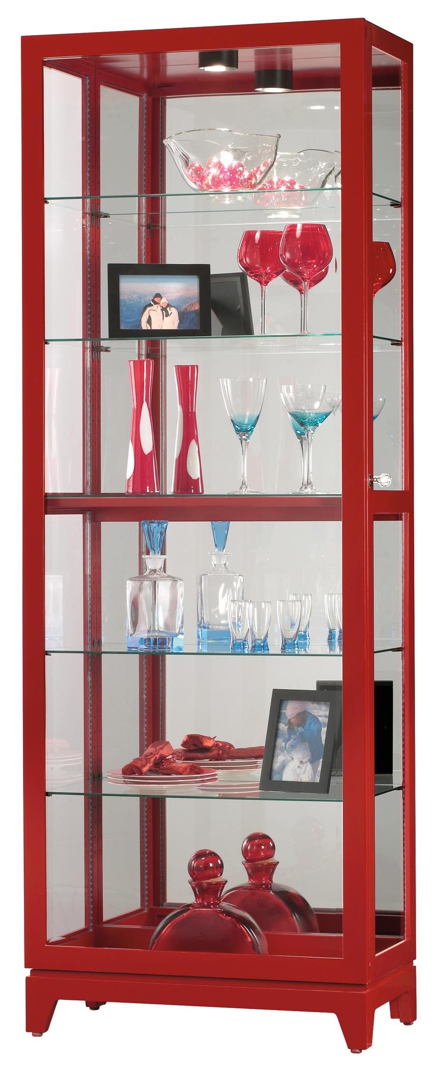 Howard Miller Curios Luke II Curio Cabinet - Item Number: 680-589