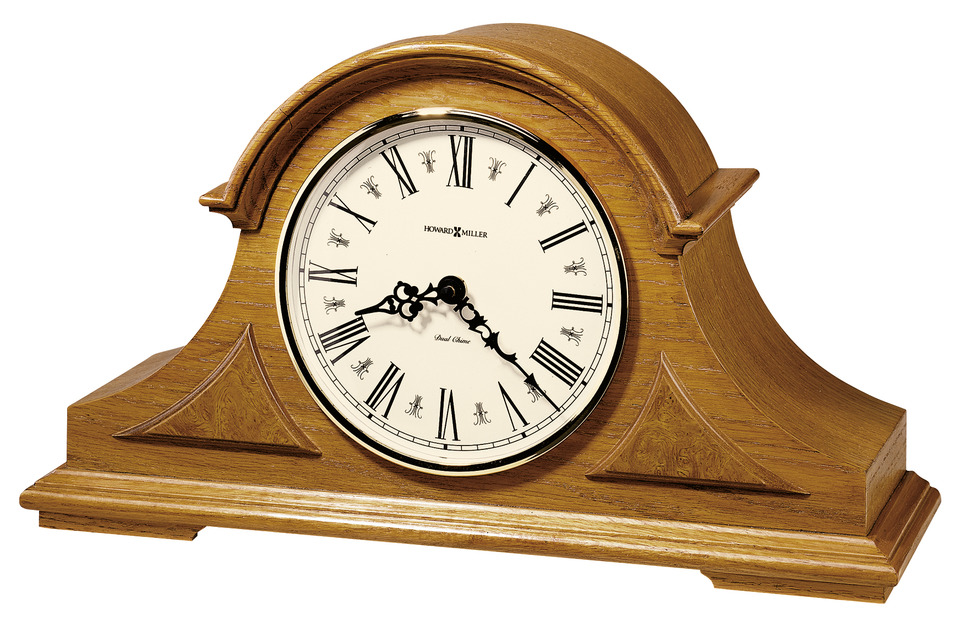 Howard Miller Table & Mantel Clocks Burton Mantel Clock - Item Number: 635-106