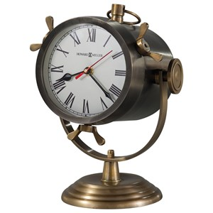 Howard Miller Table & Mantel Clocks Vernazza Spotlight Mantel Clock