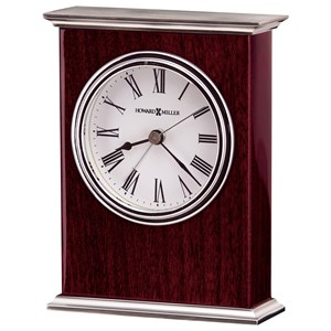 Howard Miller Table & Mantel Clocks Kentwood Alarm Clock