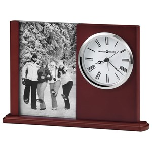 Howard Miller Table & Mantel Clocks Portrait Caddy II Table Clock
