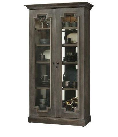 "Sanderson Sanderson 44"" Curio Cabinet by Howard Miller at Morris Home"
