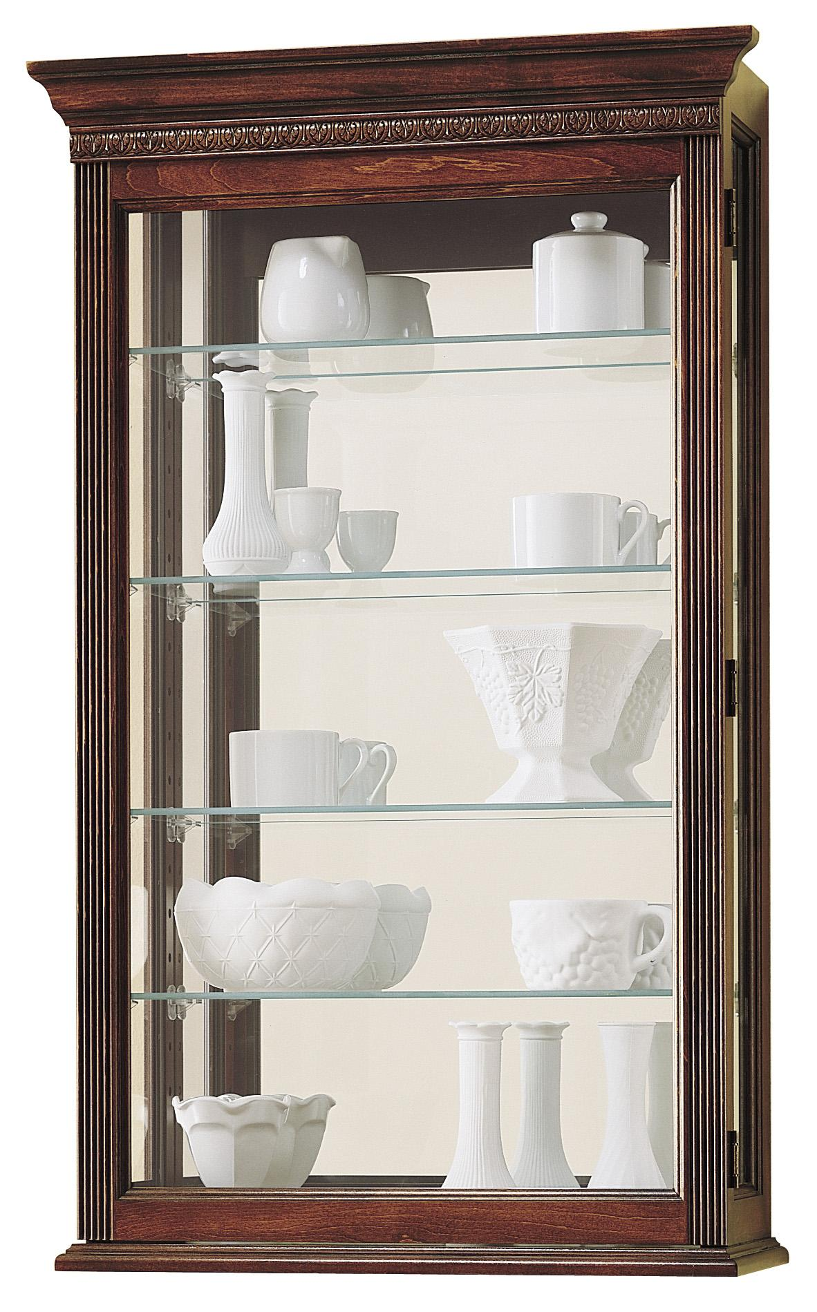 Howard Miller Wall Curios Edmonton Display Cabinet - Item Number: 685-104