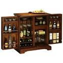 Howard Miller Wine & Bar Furnishings Lodi Wine & Bar Console With Hide-a-Bar