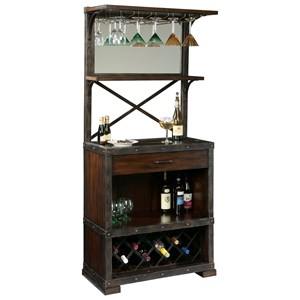 Howard Miller Wine & Bar Furnishings Red Mountain Wine Cabinet