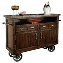 Howard Miller Wine & Bar Furnishings Barrow's Wine and Bar Console - Item Number: 695-146