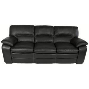 HTL 10422 Contemporary Leather Match Sofa