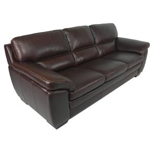 HTL 10496 Contemporary Leather Match Sofa
