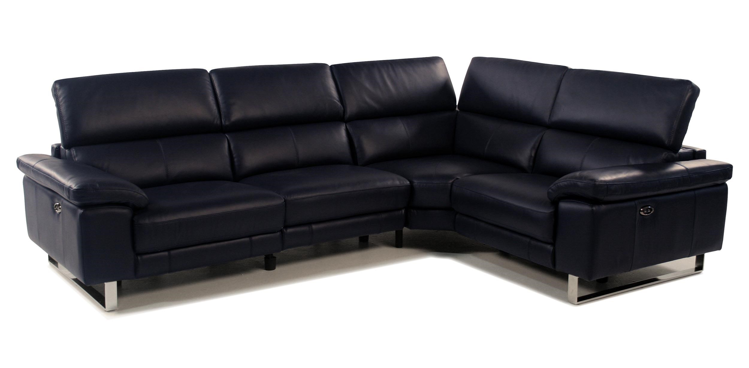 Giovani Horizons 2 Piece Power Reclining Leather Sectional - Item Number: RS-10565-2PC