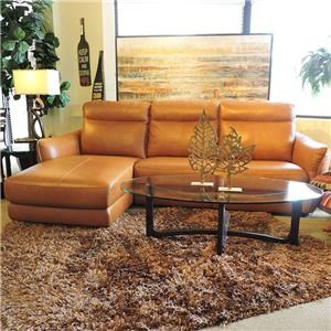 Belfort Select Davis Power Sectional with Chaise