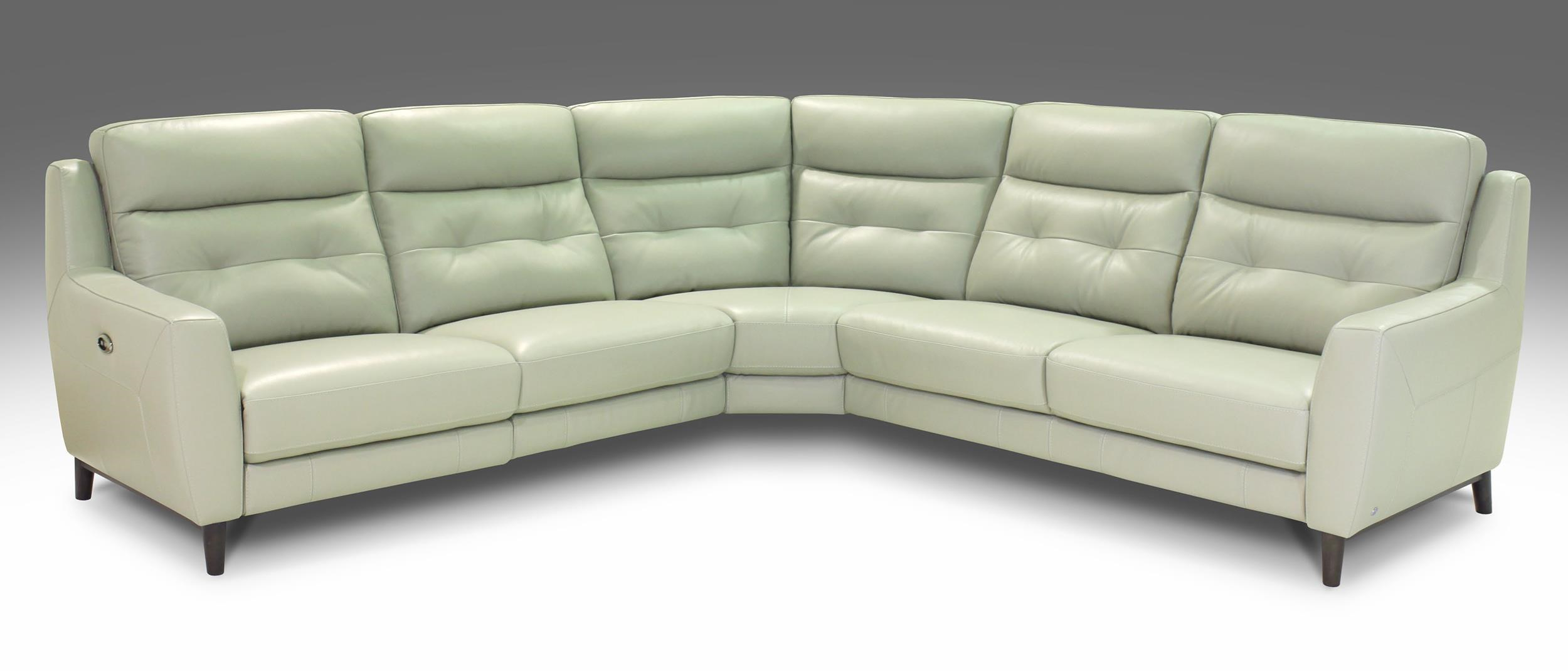 Giovani Fission Power Reclining Leather Sectional - Item Number: RS-10859-3PC