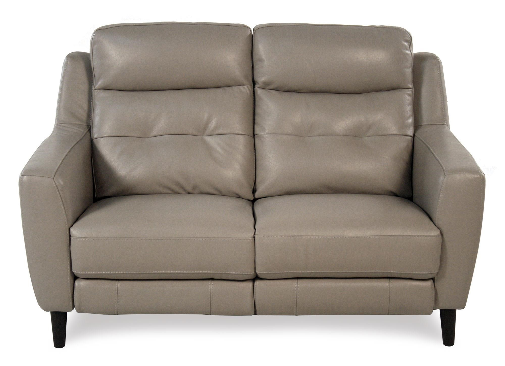 Giovani Fusion Power Reclining Leather Loveseat - Item Number: 10859-2S2UA-NC282