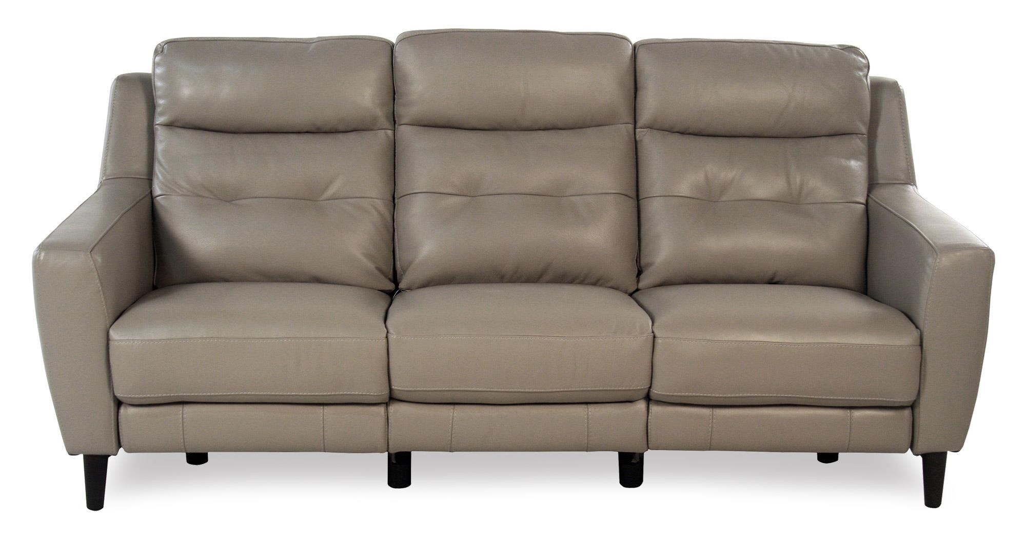 Giovani Fusion Power Reclining Leather Sofa - Item Number: 10859-3S2UA-NC282