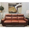 Belfort Select Noah Power Headrest Sofa - Item Number: 10878-PR-3S2UA SK-297E  FL3