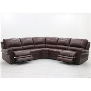 Belfort Select William Power Reclining Sectional