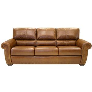HTL 2101 Upholstered Leather Sofa