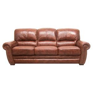 HTL 2256 Traditional Stationary Sofa with Nailhead Trim