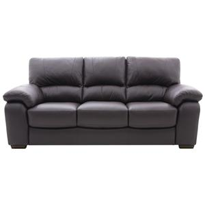 HTL 2281 Transitional Stationary Sofa with Pillow Arms