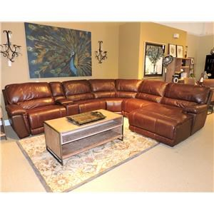 Belfort Select Skyler 2678 Reclining Sectional Sofa