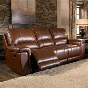 HTL 2678CS Reclining Leather Sofa
