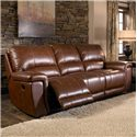 HTL 2678CS Reclining Leather 3-Seat Sofa - 3S2XA