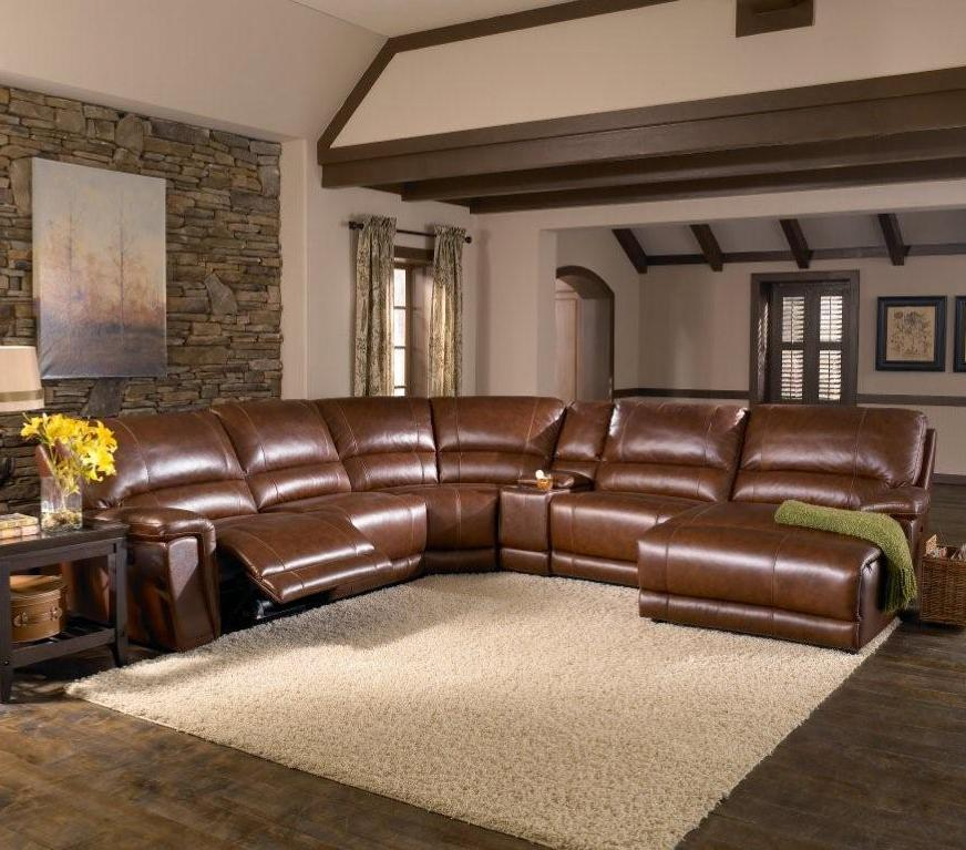 HTL 2678CS Reclining Leather Sectional Sofa | Fashion Furniture ...