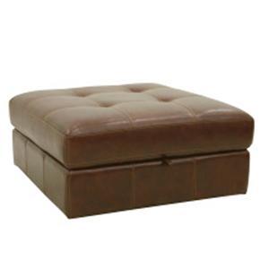 HTL 2775 Button-Tufted Storage Ottoman