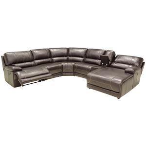 HTL 2847 Reclining Sectional