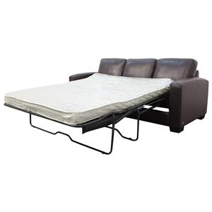 HTL 2850  Contemporary Styled Sofa Sleeper with Long Track Arms