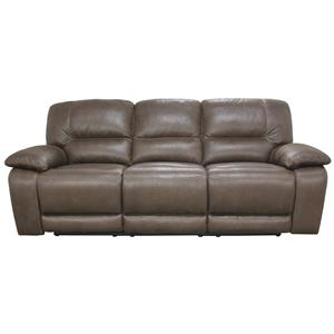8691 Double Power Reclining Sofa with Three Seats and Casual Furniture Design  by HTL