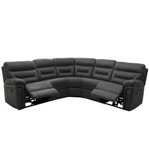 HTL 8813-Y 5 Piece Power Reclining Sectional