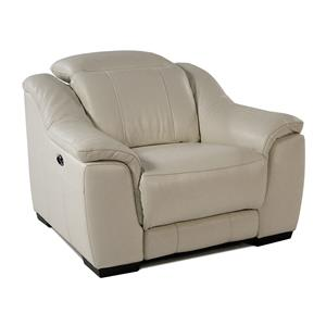 Giovani Illusion Power Leather Recliner