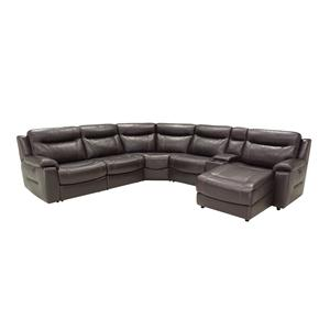 HTL 9624 6 Pc Reclining Sectional Sofa