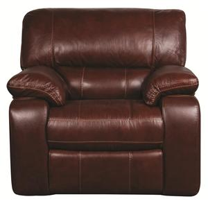 Morris Home Furnishings Xavier Xavier Power Leather-Match* Wall Recliner