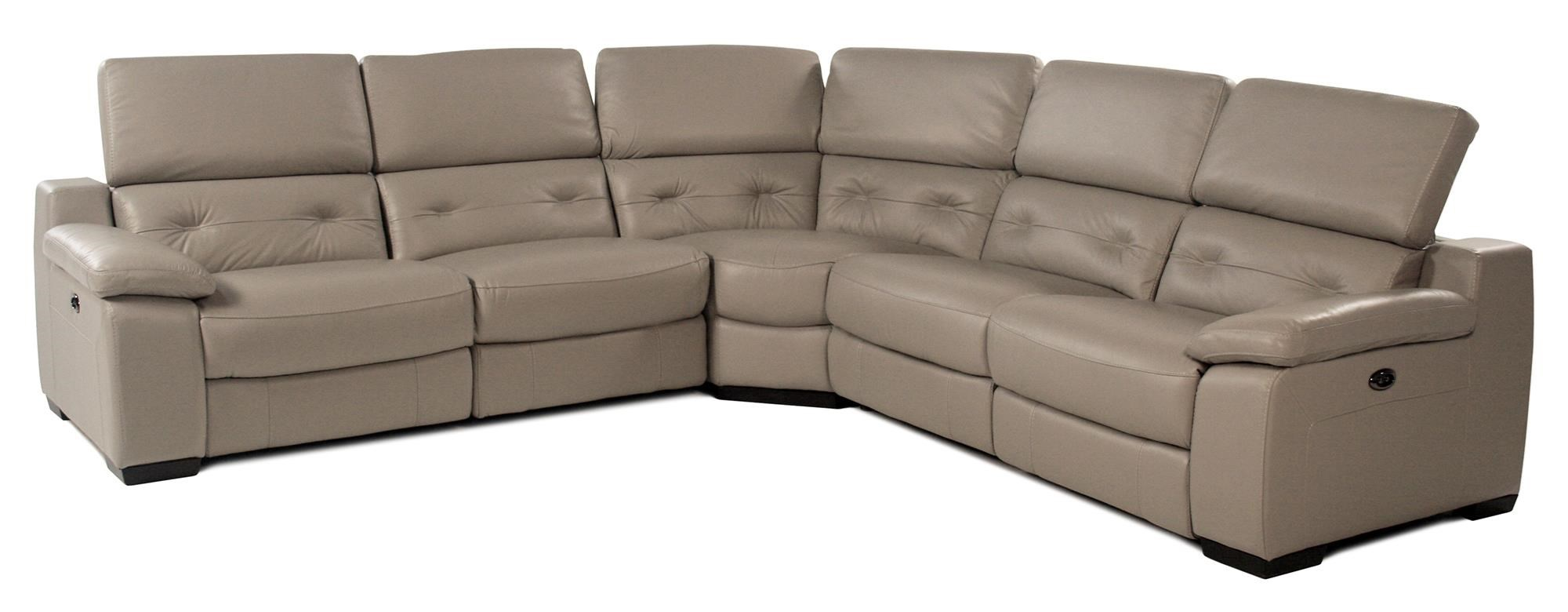 Giovani Cassandra 5PC Power Reclining Leather Sectional - Item Number: RS-10981-5PC-PRS