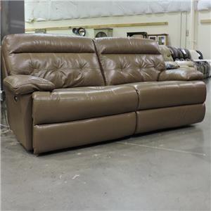 Belfort Select Clearance Reclining Power Sofa