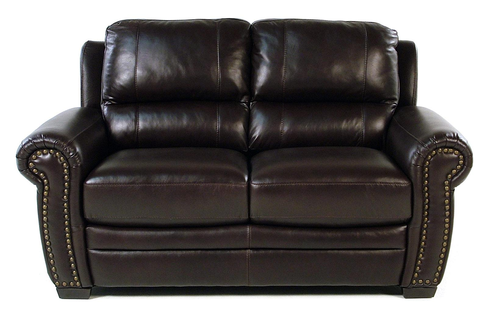 Giovani Devonshire Leather Loveseat - Item Number: 10013NH-Y2S