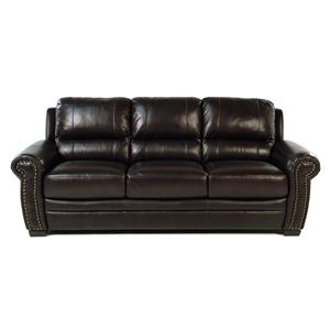 Giovani Devonshire Leather Sofa