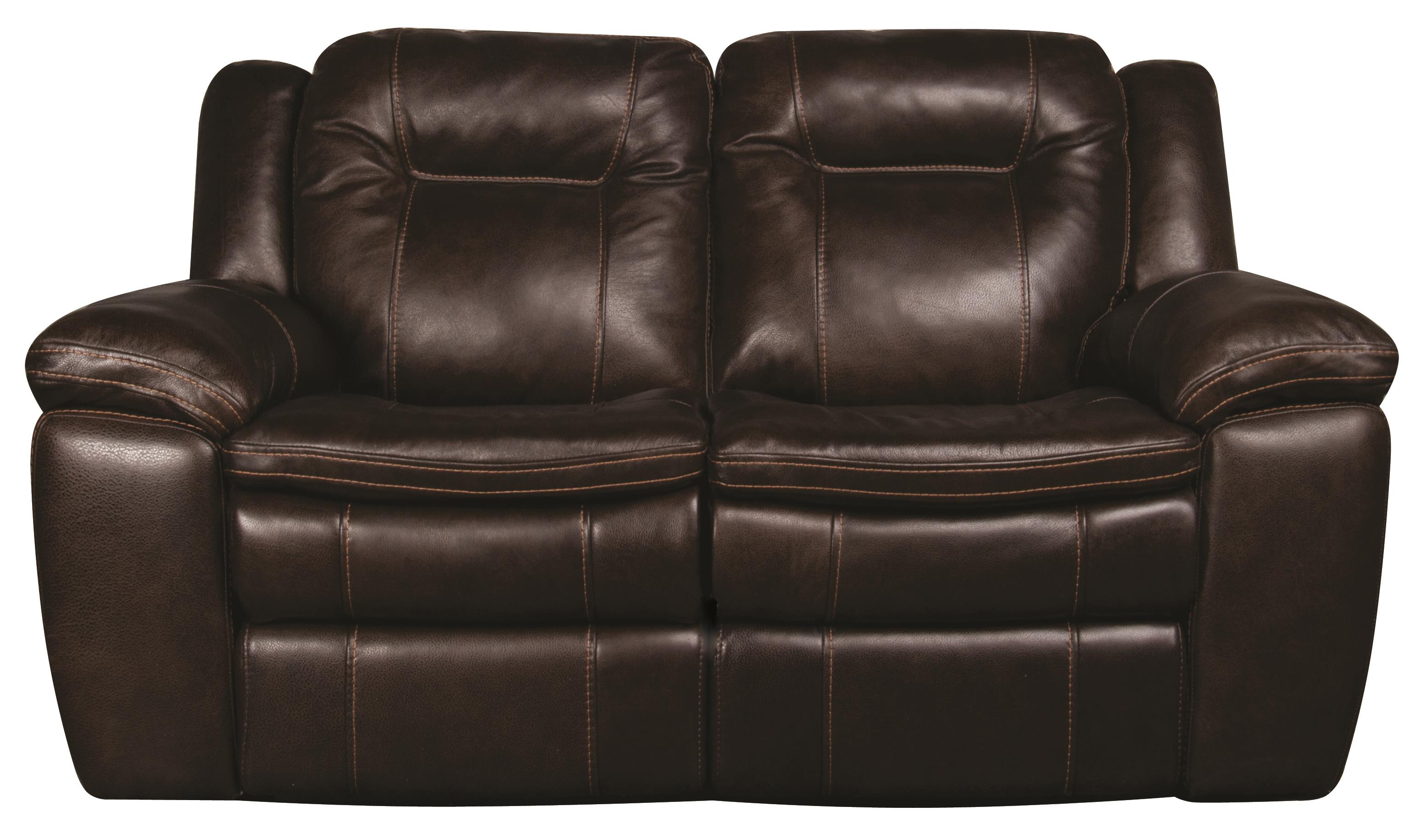 Morris Home Furnishings Heath Heath PWR Leather-Match* Loveseat - Item Number: 559310482