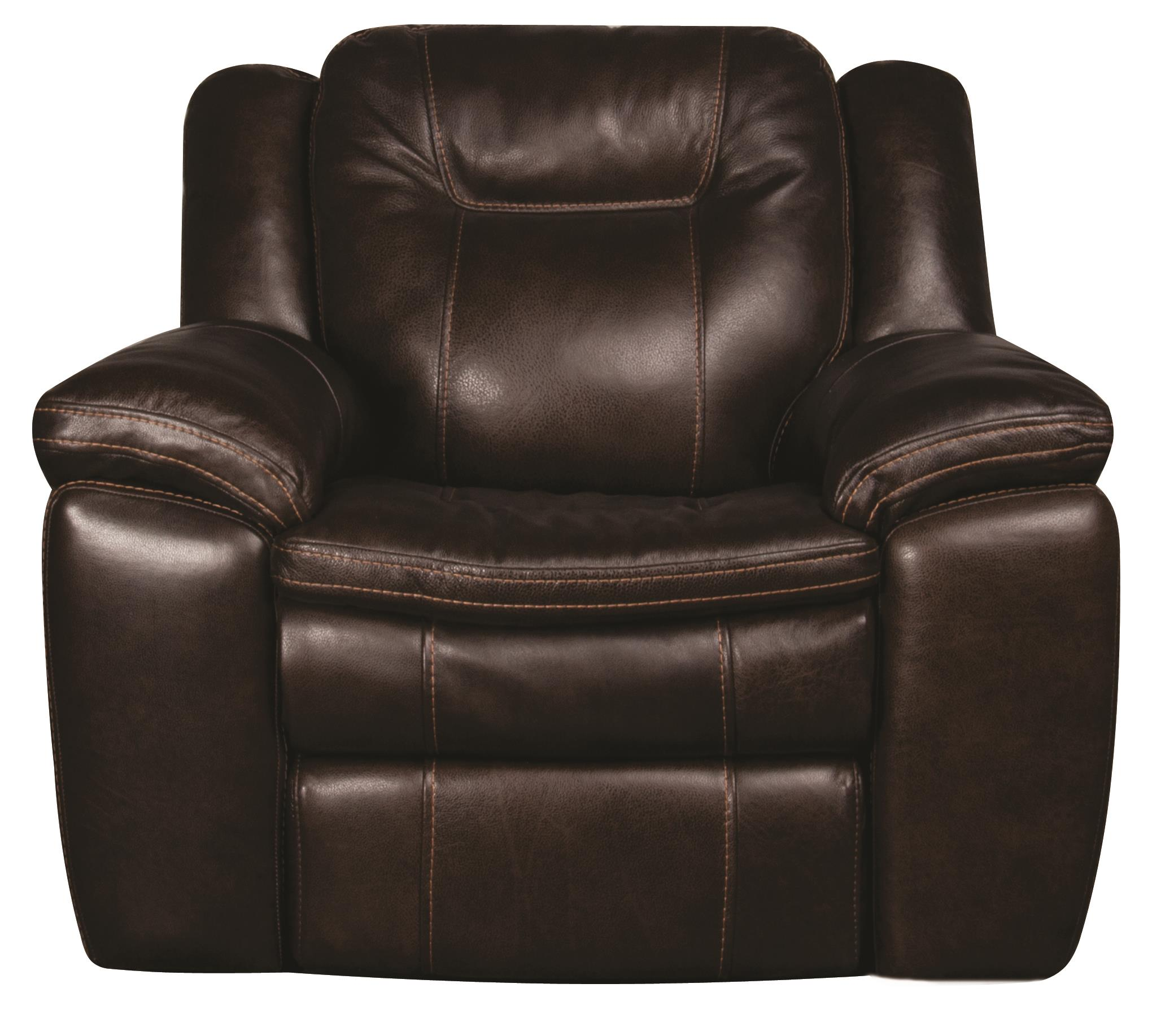 Morris Home Furnishings Heath Heath Power Leather-Match* Recliner - Item Number: 773818847