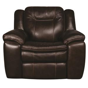 Morris Home Furnishings Heath Heath Power Leather-Match* Recliner