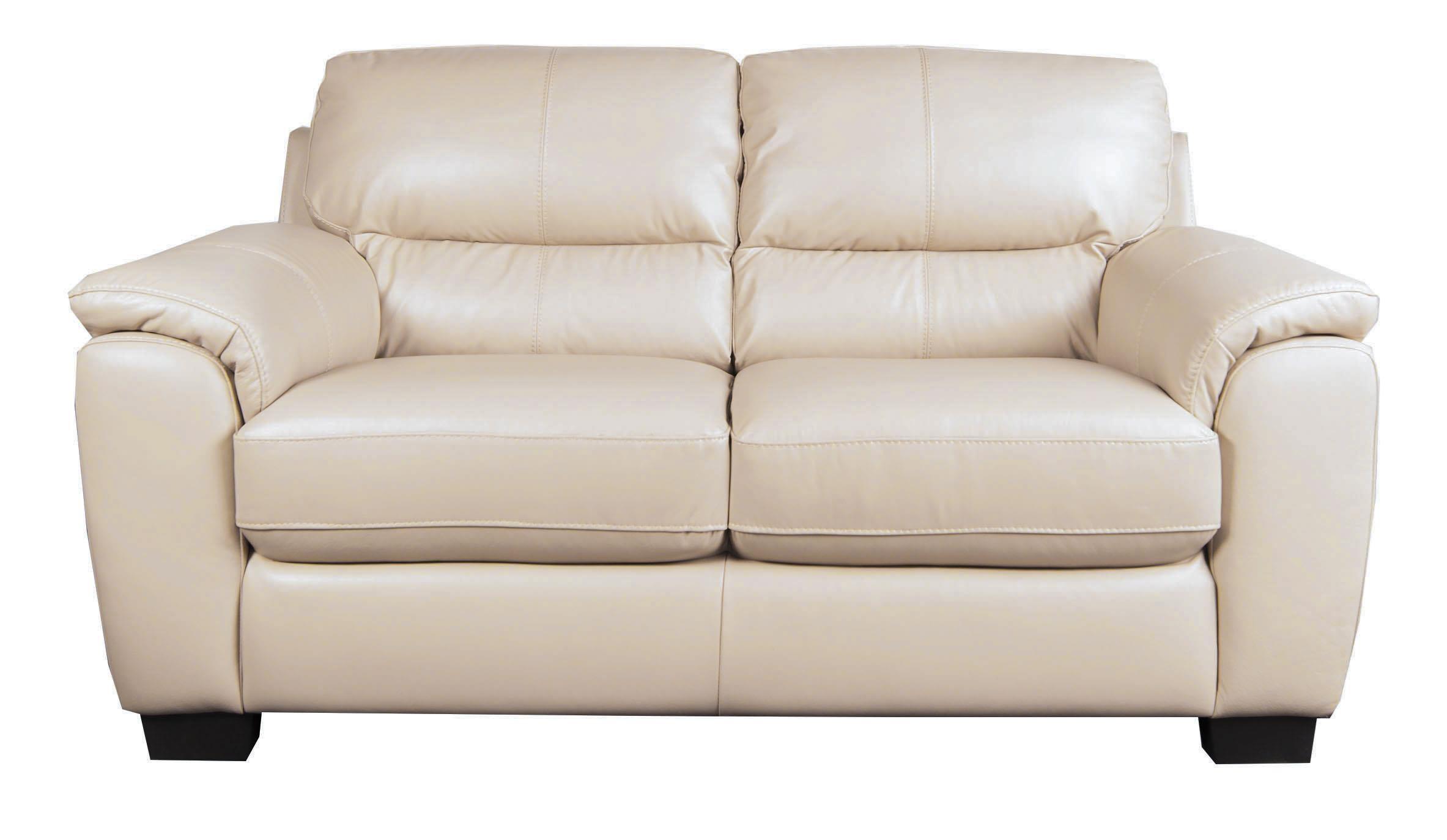 San Lorenzo Holt Holt 100% Leather Loveseat - Item Number: 622280165