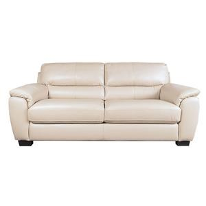 Morris Home Furnishings Holt Holt 100% Leather Sofa