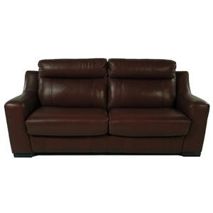 Giovani Bartolini Full Size Leather Sleep Sofa